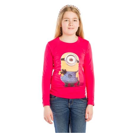 Купить Лонгслив для девочки Single-Eyed Minion