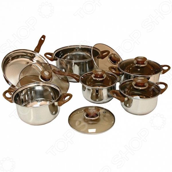 Набор посуды «Твой повар». Количество предметов: 12