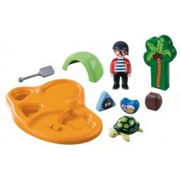 Конструктор для малыша Playmobil «Пиратский остров»