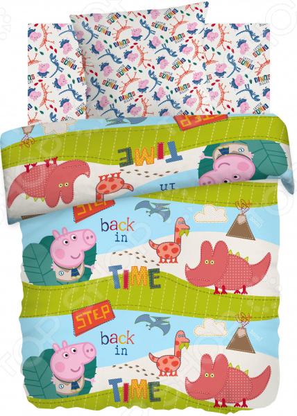 Детский комплект постельного белья Непоседа «Диноэра» детский комплект постельного белья непоседа на рыбалке