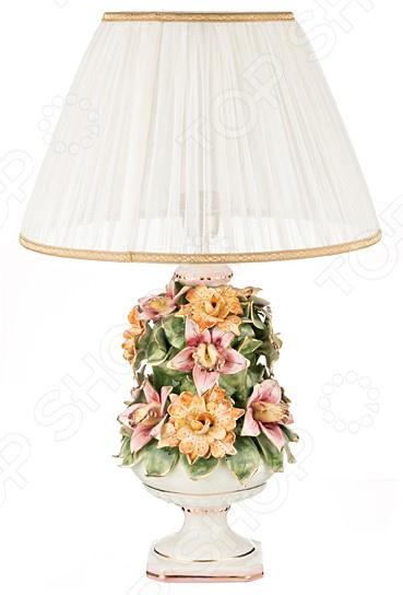 Светильник настольный с абажуром Lanzarin 697-042