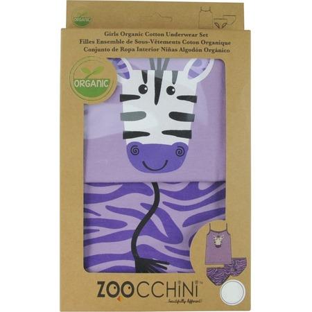 Купить Комплект нижнего белья для девочки Zoocchini «Зебра»