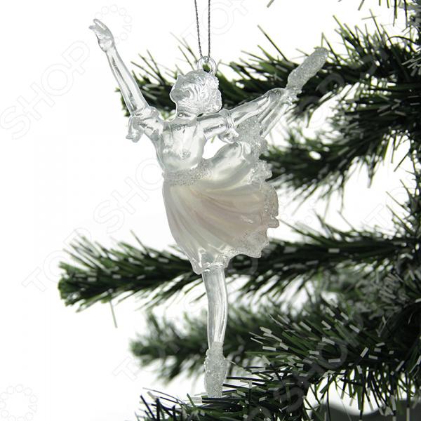 Елочное украшение Crystal Deco «Балерина» 1707730. В ассортименте новогоднее украшение crystal deco шар в ассортименте