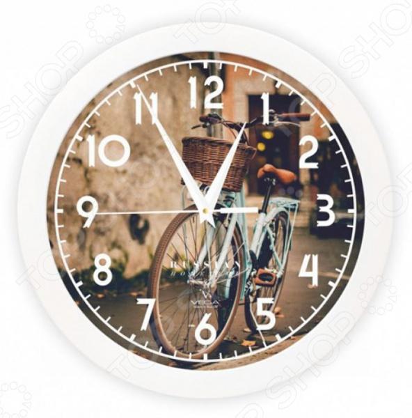 Часы настенные Вега П 1-7/7-253 «Ретро велосипед»