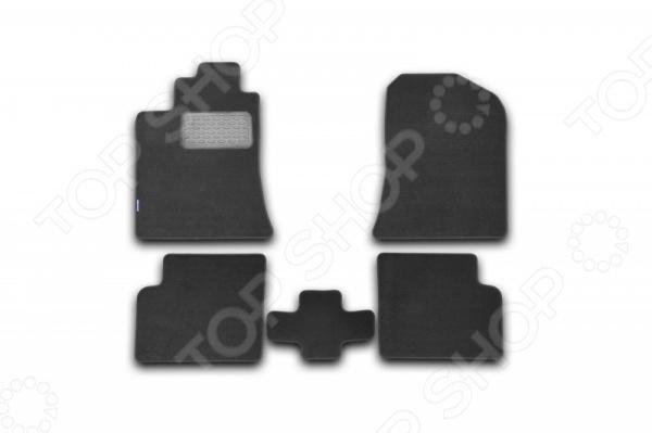 Комплект ковриков в салон автомобиля Novline-Autofamily Lifan Solano 2010 набор автомобильных экранов trokot для lifan solano 2 2016 наст время на передние двери укороченные