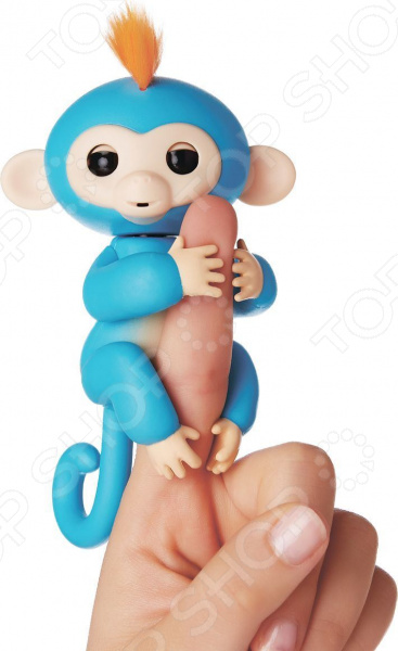 Игрушка интерактивная Fingerlings «Обезьянка Борис» игрушка интерактивная 31 век обезьянка f 003b р