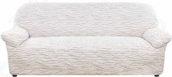 Натяжной чехол на трехместный диван Еврочехол «Тела Ридже»