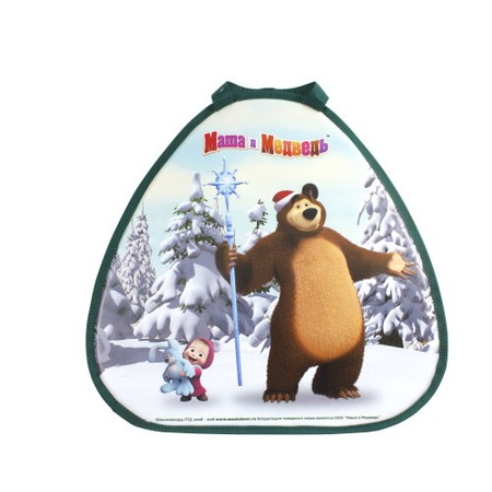 Купить Ледянка треугольная 1 Toy «Маша и Медведь»