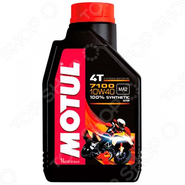Масло моторное синтетическое Motul 4T 10W-40 цена