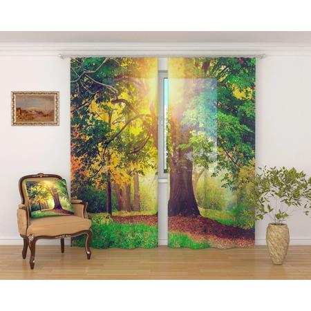 Купить Фототюль Сирень «Дерево в парке»