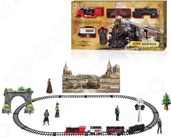 Набор железнодорожный на дистанционном управлении 1 Toy «Ретро Экспресс» Т10578
