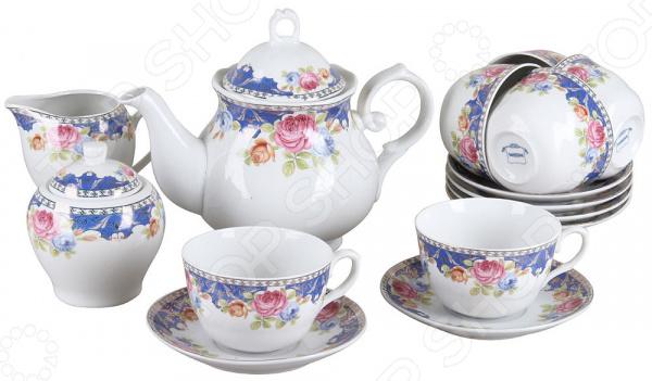 Чайный сервиз Rosenberg RPO-115041 чайный набор rosenberg 200 мл 12 предметов