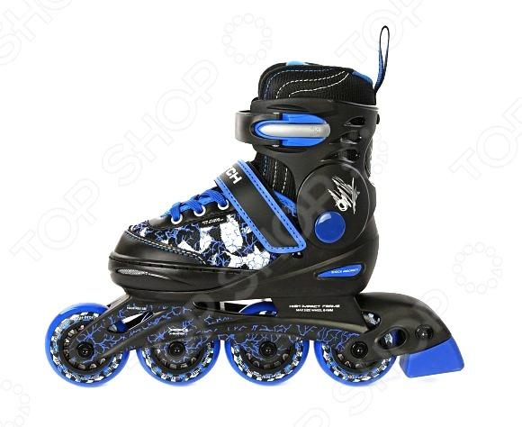 Роликовые коньки X-MATCH «Узоры». Цвет: синий
