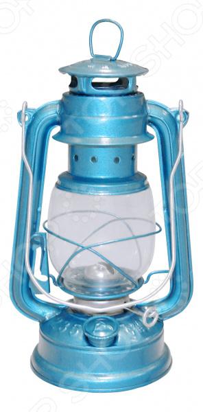 Лампа керосиновая. Цвет: синий