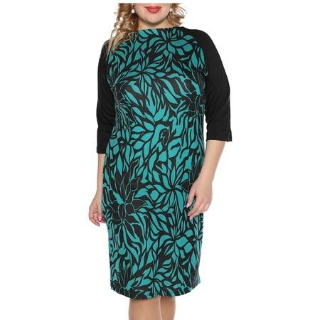 Купить Платье VEAS «Нежный жасмин». Цвет: бирюзовый