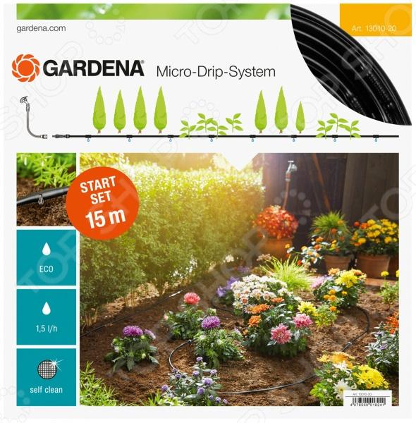 Комплект микрокапельного полива Gardena Базовый с фитингами комплект микрокапельного полива gardena базовый page 3