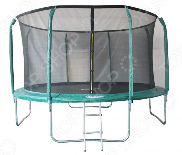 Батут с защитной сетью Sport Elite GB102011-12FT батут house fit батут с лестницей диаметр 366см 12ft