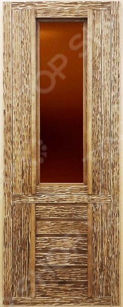 Дверь со стеклом Банные штучки 32263