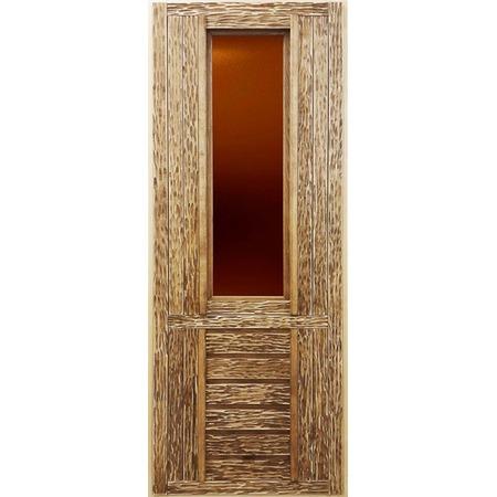 Купить Дверь со стеклом Банные штучки 32263