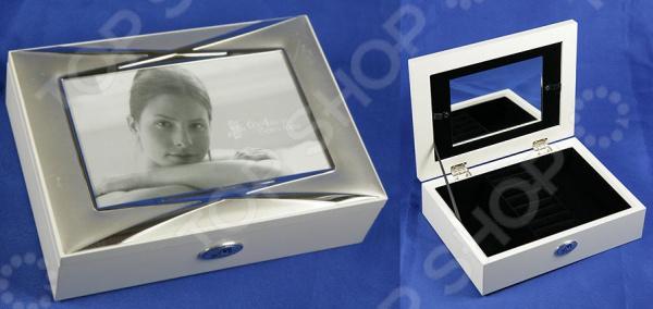 Шкатулка-фоторамка ювелирная Moretto 39869