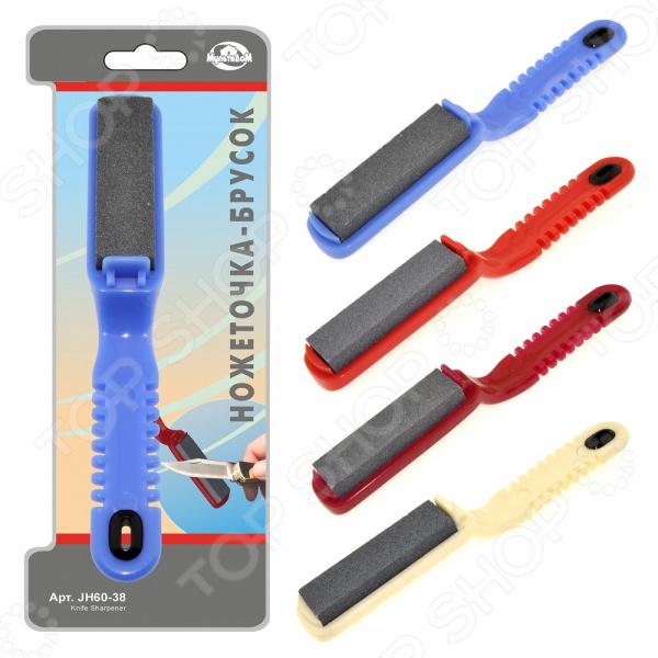 Брусок для заточки лезвий Мультидом JH60-38. В ассортименте брусок для заточки ножей victorinox
