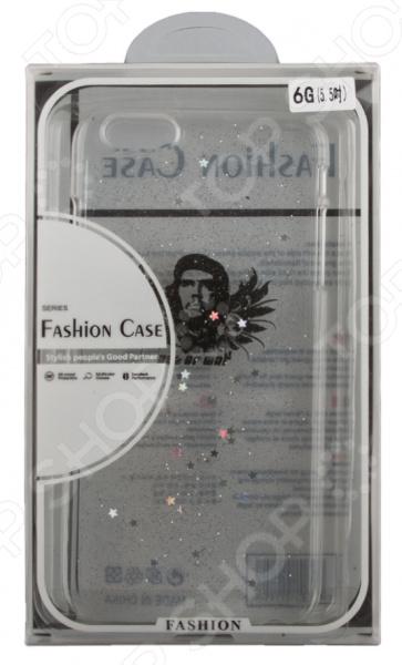 Чехол для iPhone 6/6S Plus с блестками «Че Гевара»