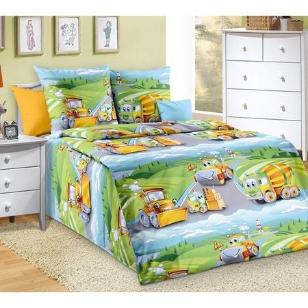 Купить Детский комплект постельного белья ТексДизайн «Дорожный патруль»