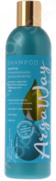 Концентрированный шампунь для укрепления волосяных луковиц Argaway с аргановым маслом, пептидами, ламинарией