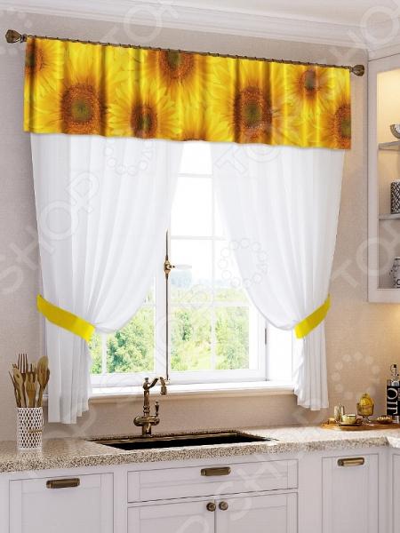 Шторы для кухни ТамиТекс «Варвара» шторы для кухни drdeco шторы basilic дизайн 9