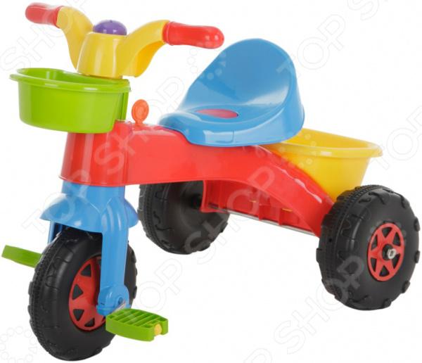 Велосипед трехколесный Dolu с корзинкой