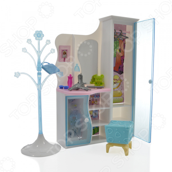 Фото Набор мебели для кукол 1 Toy «Прихожая»