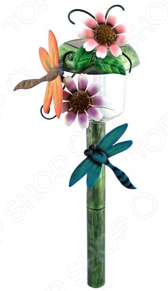 Светильник садовый на солнечной батарее Старт «Лето. Стрекоза» светильник садовый эра электротовары бабочка и стрекоза на солнечной батарее