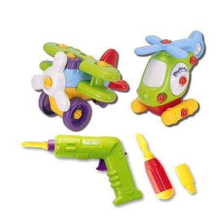 Купить Игровой набор Keenway «Аэроплан и вертолет»