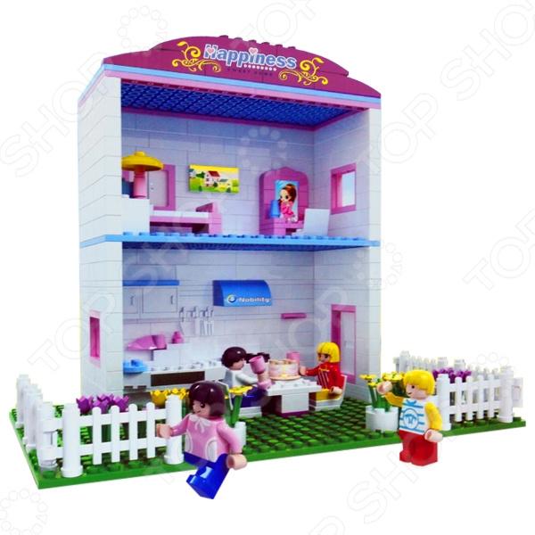 Конструктор игровой 1 Toy «Мой маленький мир» конструктор cyber toy cybertechnic 2 в 1 303 детали 7781