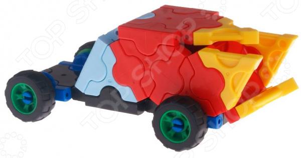 Конструктор-игрушка для ребенка AVToys «Автомобиль: Огонек»