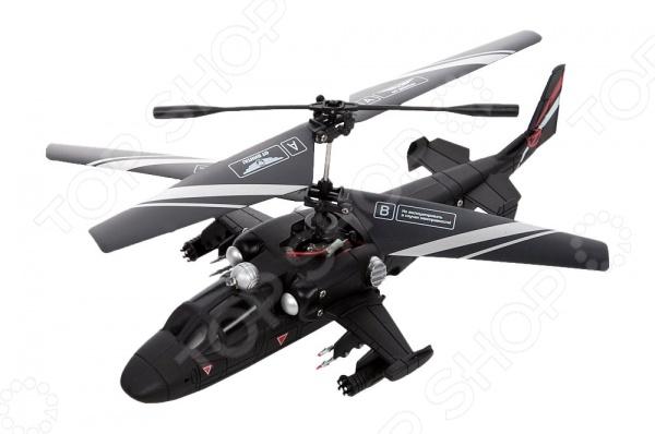 Вертолет на радиоуправлении От Винта! Fly-0235 со световыми эффектами может не только двигаться в трех осях, но также умеет выполнять боковой полет, зависание и круговое вращение на 360 градусов. Игрушка способствует развитию мелкой моторики и логики, учит координации в пространстве, а еще тренирует реакцию и сообразительность. Предусмотрен контроль скорости, наделяющей пилота возможностью выбора режима высокой и низкой скорости. Предназначен для игры на улице и в помещении. Пульт работает от 6 батареек типа AA, которые необходимо приобрести отдельно.