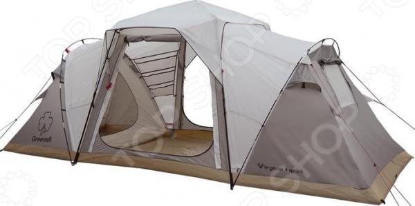 Палатка Greenell «Виржиния 6 квик» палатка greenell виржиния 6 плюс green