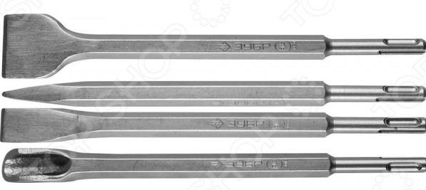 Набор зубил и сверл для перфоратора Зубр 29360-H13 2