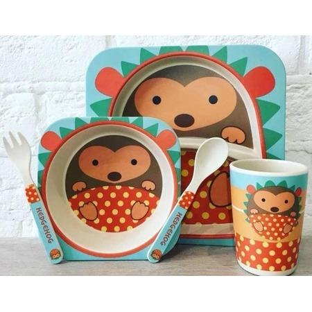 Купить Набор посуды для детей «Ёжик»