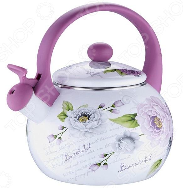 Чайник со свистком Wellberg WB-3441 чайник wellberg wb 3431 f