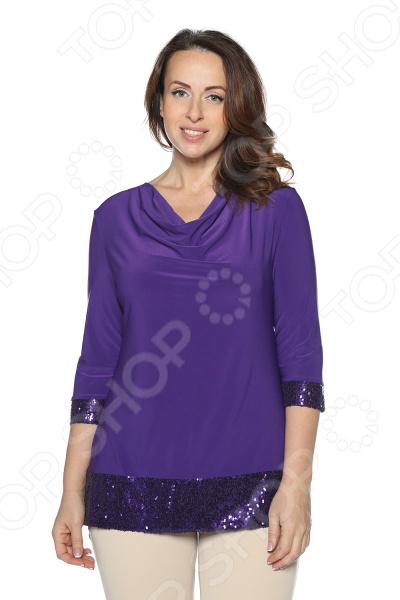 Блуза VEAS «Самаркандская царица». Цвет: фиолетовый