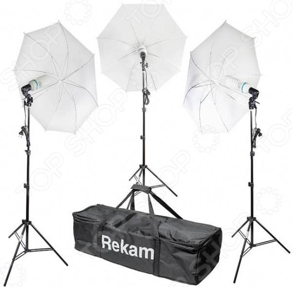 Комплект осветителей флуоресцентных Rekam CL-375-FL3-UM Kit rekam cl 250 fl2 sb kit