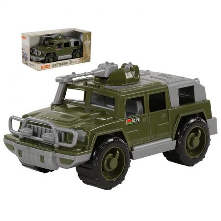 Купить Машинка игрушечная POLESIE «Джип военный. Защитник» с 1-м пулемётом