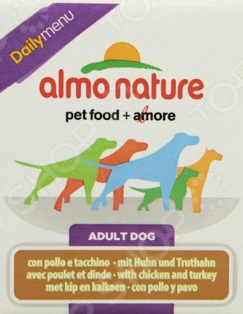 almo nature DailyMenu Adult with Chicken and Turkey 54266