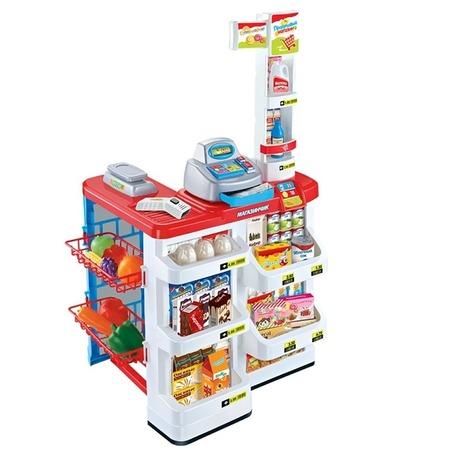 Купить Игровой набор для девочки Zhorya «Магазинчик с корзиной и аксессуарами». В ассортименте