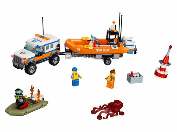 Конструктор-игрушка LEGO City «Внедорожник 4х4 команды быстрого реагирования»