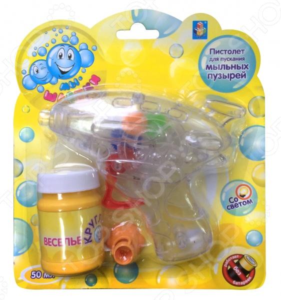 Игрушка для пускания мыльных пузырей 1 Toy «Мы-шарики!» Т58742 hti машина для пускания мыльных пузырей double bubble hti
