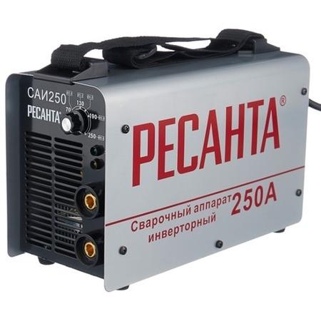 Купить Сварочный аппарат инверторный Ресанта САИ 250