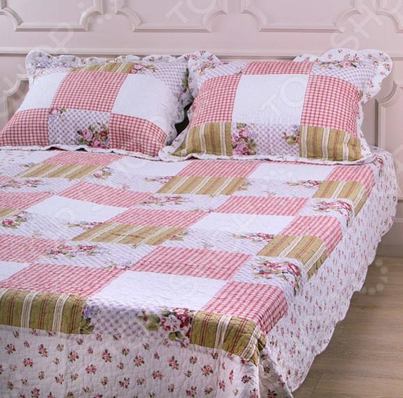 Комплект для спальни: покрывало и наволочки Santalino 806-005 для спальни