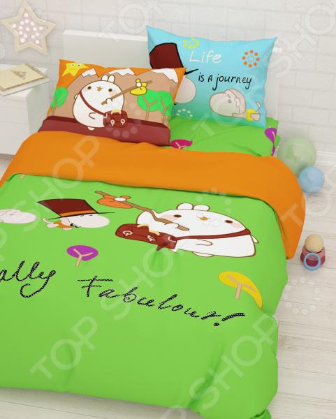 Детский комплект постельного белья Сирень «Поход» детский комплект постельного белья непоседа урок